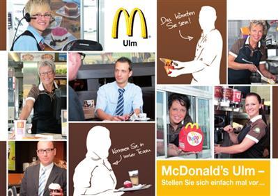 McDonald's Ulm - Gerhard Schmid